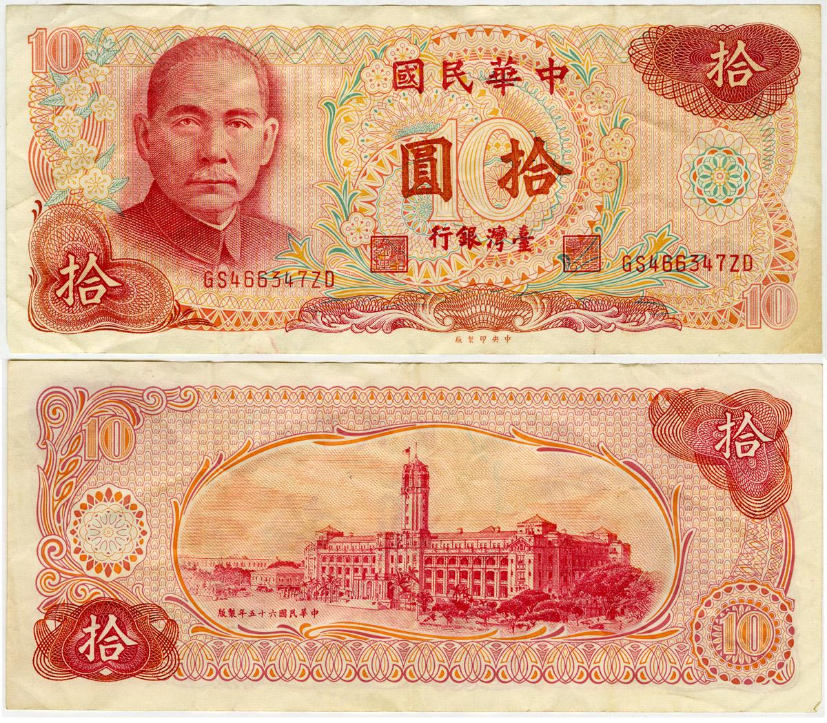 Ten Yuan Note